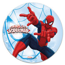 Edible Cake Topper Spiderman Spiderweb Décorelief
