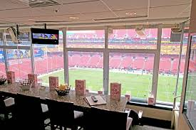 Fedex Field Club Level Seating Chart Washington Redskins Suite Rentals Fedex Field