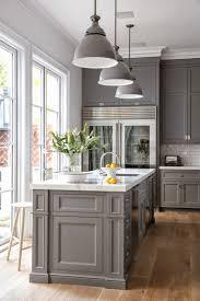 classic gray kitchen cabinet paint color