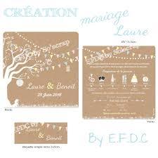 Le Blog D Efdc By So Scrap Le Faire Part De Mariage Th Me