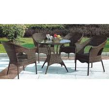 brown outdoor patio furniture seating