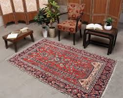 area rugs 4x6 wool antique red and black handmade persian area rug hesamcrafts rugs target with