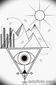 черно белый эскиз тату геометрия 09032019 017 Tattoo Sketch