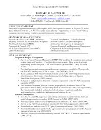 Top Secret Clearance Resume Free Economic Development Officer