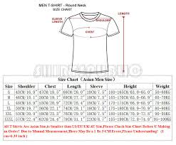 Asian T Shirt Measurement Chart H R Pufnstuf Mens Black Tshirt Tees Clothing