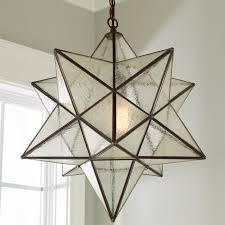magnificent star light pendants in moravian chandelier designs