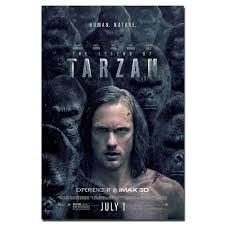 The Legend of Tarzan Movie Poster Canvas Print Painting Wall Art for Living  Room Home Decor