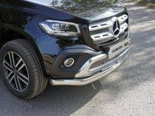 <b>Защита передняя нижняя</b> (<b>овальная</b>) 75х42 мм. | Mercedes X ...
