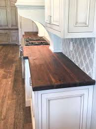 polyurethane finish for butcher block countertops oil beeswax finish on this black walnut walnut is a water resistant hardwood find this pin and more on