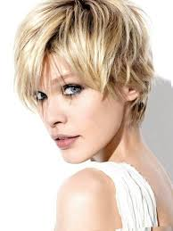 For this style, the hair is very short around the sides and long on the top. Short Haircut Ears Covered