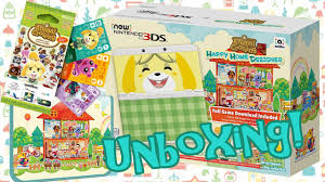 3ds Xl Happy Home Designer Bundle Animal Crossing Happy Home Designer New 3ds Bundle Unboxing Amiibo Cards Carrying Case