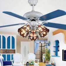 multi color bell ceiling fan 3 lights
