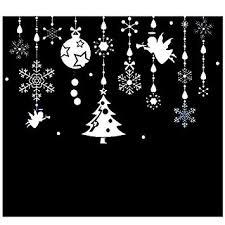 Christmas Living Room Decorating Ideas Adorable Amazon SODIALR Charm Pendants Wall Sticker Creative DIY