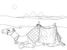 Small Picture Coloring Pages Animals Guanaco Camel Coloring Page Camel