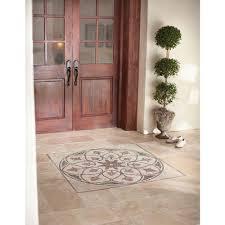 Travertine Kitchen Floor Tiles Ms International Tuscany Beige 12 In X 12 In Honed Travertine