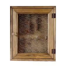 key holder wooden cypress niche for an embedded type flora glass door 25 x 7 x