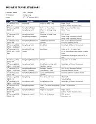 Itinerary Travel Template 003 Business Trip Itinerary Travel Template Word Ulyssesroom