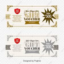 Gift Certificate Template With Logo Vector Gift Certificate Template Vector Voucher Fantasy