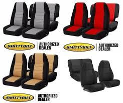 front rear custom neoprene seat covers