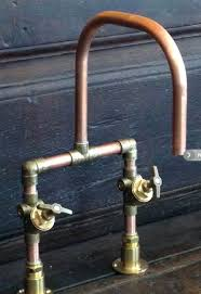 diy bathroom faucet faucet with copper pipes and brass fittings do it yourself bathtub faucet repair