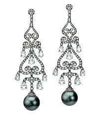 pearl chandelier