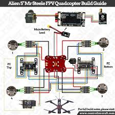 fpv quadcopter wiring diagram fpv image wiring diagram impulserc alien 5 mr steele fpv quadcopter build diagram album on fpv quadcopter wiring diagram