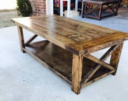 Where to Use a Rustic Coffee Table – Furniture Depot