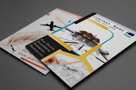 two sided flyer template free brochure templates ai free download best samples templates
