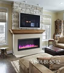 electric fireplace mantels mantel plans sierra flame vista bi stone wall wood big lots electric fireplace mantels