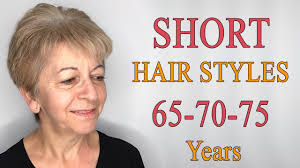 Short Hairstyles For Women Over 65 70 75 Short Haircuts For Older
