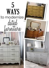 Modernizing Old Furniture 001