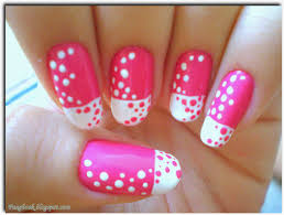 Pink Nail Art and Designs. | FAAGBOOK