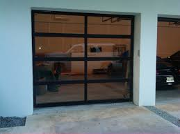 clear garage doorsGlass Garage Door Full View Aluminum Clear  loversiq