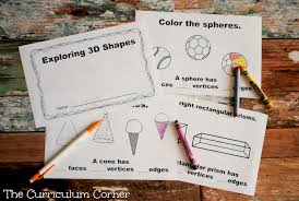 1st Grade Geometry - The Curriculum Corner 123