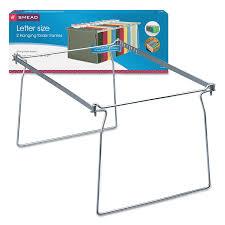 Hanging Files For Filing Cabinets Smead Hanging Folder Frame Letter Steel 2 Pack Walmartcom