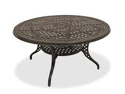 garden trellis 60 round cast aluminum table