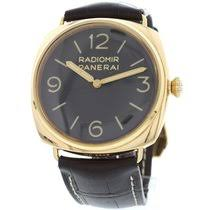 pre owned panerai watches on chrono24 panerai men amp 39 s radiomir 18k rose gold watch pam00379