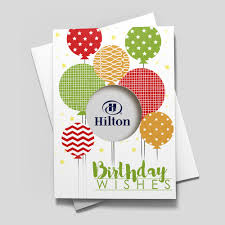 Balloon Birthday Card Design Balloon Diecut