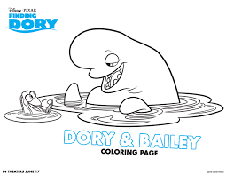 Small Picture Finding Dory Coloring Pages and Activity Sheets Crazy Adventures
