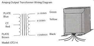 output transformer wiring diagram solution of your wiring diagram output transformers rh fliptops net square d transformer wiring diagram 24 volt transformer wiring diagram