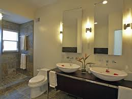Double Mirrored Bathroom Cabinet Bathroom White Wood Wall Mounted Bathroom Medicine Cabinet With