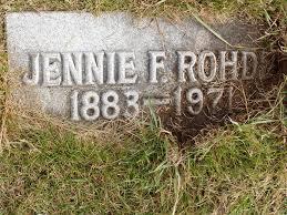 Jeanne Aurelia Freeman Rohde (1883-1971) - Find A Grave Memorial