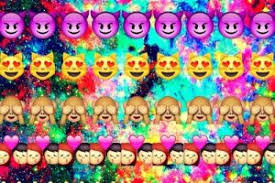 dope emoji galaxy background. Simple Emoji With Dope Emoji Galaxy Background O