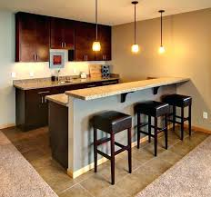 Basement Wet Bar Design Fascinating Basement Bar Layout Briccolame