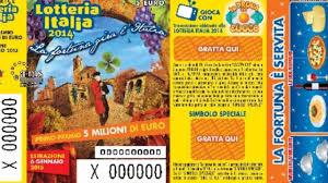 Lotteria Italia: ecco dov'è stato il biglietto vincente da 5 ...