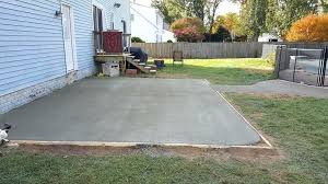 how much does a concrete patio cost uk ideas