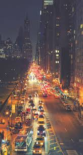 York Street Night Traffic iPhone 6 ...