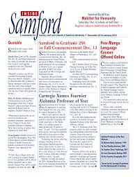 Samford to Graduate 288 in Fall Commencement Dec. 13 Carnegie Names  Fournier Alabama Professor of Year Free Mango Language Cours