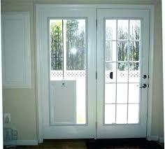 pet door glass insert