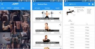 jefit best workout app for tracker gym log personal trainer